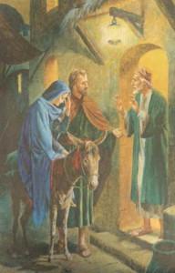 O caminho com Jesus, Maria e José