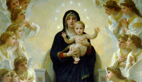 A Virgem Maria é a imagem mais perfeita e acabada da beleza de Deus.