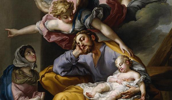 Consideremos o profundo amor que São José dedicou a Jesus Cristo e a Virgem Maria, e dedica a cada um de nós, como nosso pai e protetor.