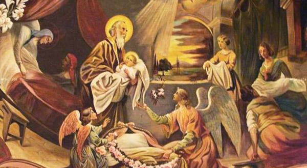 Alegremo-nos na festa da Natividade de Maria Santíssima, a Mãe do Salvador e a Medianeira de todas as graças.