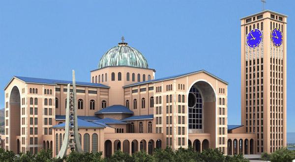 Papa Francisco concede o título de Igreja-Catedral ao Santuário Nacional de Aparecida.