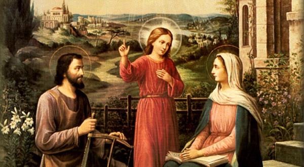 A união esponsal entre a Virgem Maria e São José nos ajuda a compreender a primazia do amor a Deus em nossas vidas.
