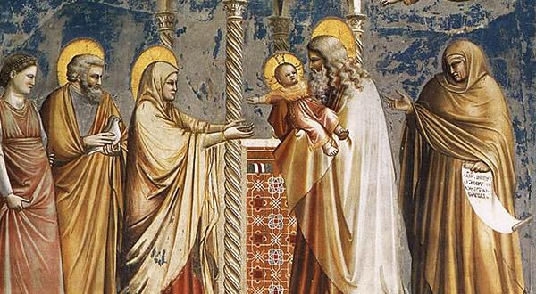Meditemos com Santo Afonso Maria de Ligório sobre a Purificação da Virgem Maria e a Apresentação do Menino Jesus no Templo.