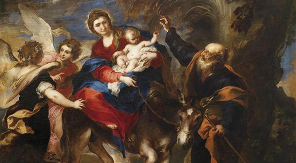 Meditemos sobre a fuga da Sagrada Família, Jesus, Maria e José para o Egito e colhamos abundantes frutos espirituais.