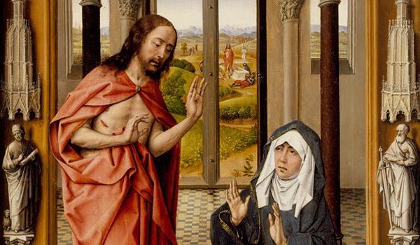 Meditemos sobre a Páscoa do Senhor Jesus Cristo neste ano dedicado especialmente a Virgem Maria.