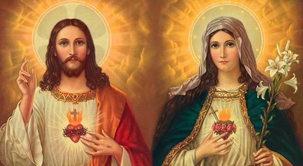 Conheça a íntima ligação que existe entre as devoções ao Sagrado Coração de Jesus e ao Imaculado Coração de Maria.