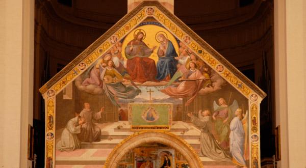 Conheça a belíssima história de São Francisco com a igreja de Nossa Senhora dos Anjos da Porciúncula.