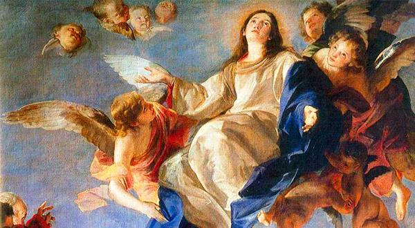 Meditemos com Santo Afonso Maria de Ligório sobre o sublime mistério da Assunção de Nossa Senhora ao paraíso celeste.
