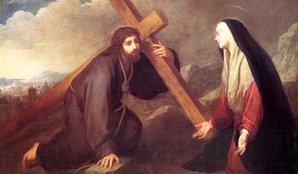 Meditemos sobre a alegria de celebrarmos a memória de Nossa Senhora das Dores neste Ano Mariano.