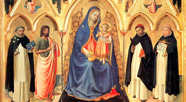 Conheçamos a antiga tradição de rezar o Rosário da Virgem Maria com cláusulas meditativas dos mistérios de Jesus Cristo.