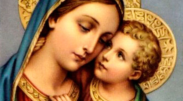 """Meditemos sobre a dignidade indescritível da Virgem Maria — """"De qua natus est Iesus, qui vocatur Christus — Da qual nasceu Jesus, que se chama o Cristo"""" (Mt 1, 16)."""