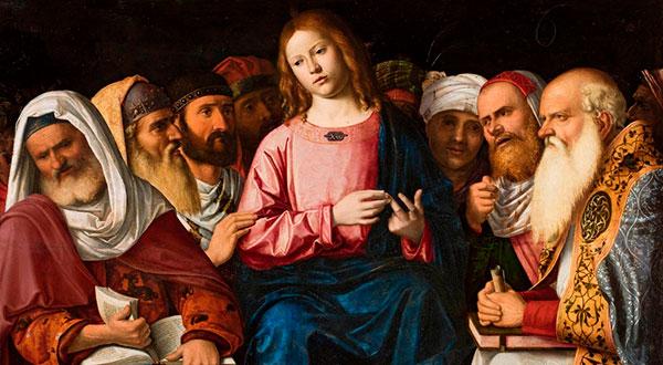 Meditemos sobre o mistério da perda e do encontro de Jesus no templo de Jerusalém entre os doutores da Lei.