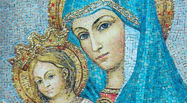 """A imagem da """"Mater Ecclesiae"""" na Praça de São Pedro foi querida pelo Papa João Paulo II como sinal de agradecimento a Virgem Maria."""