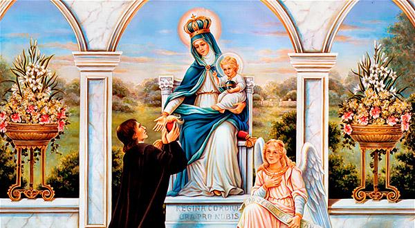 Os homens católicos, especialmente aqueles que são devotos ou consagrados a Virgem Maria, são chamados a viver com simplicidade e modéstia.