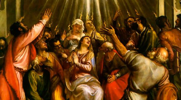 Meditemos sobre o amor de Deus manifestado em Pentecostes e na missão do Espírito Santo na santificação e na salvação de nossas almas.