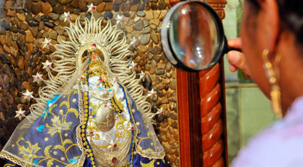 Conheçamos um pouco da história da Virgem das Litanias, talvez a menor imagem de Maria Santíssima do mundo.