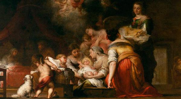 """""""O Maria, o teu nascimento foi para todo o mundo a esperança e a aurora da salvação"""" (Oração depois da Comunhão)."""
